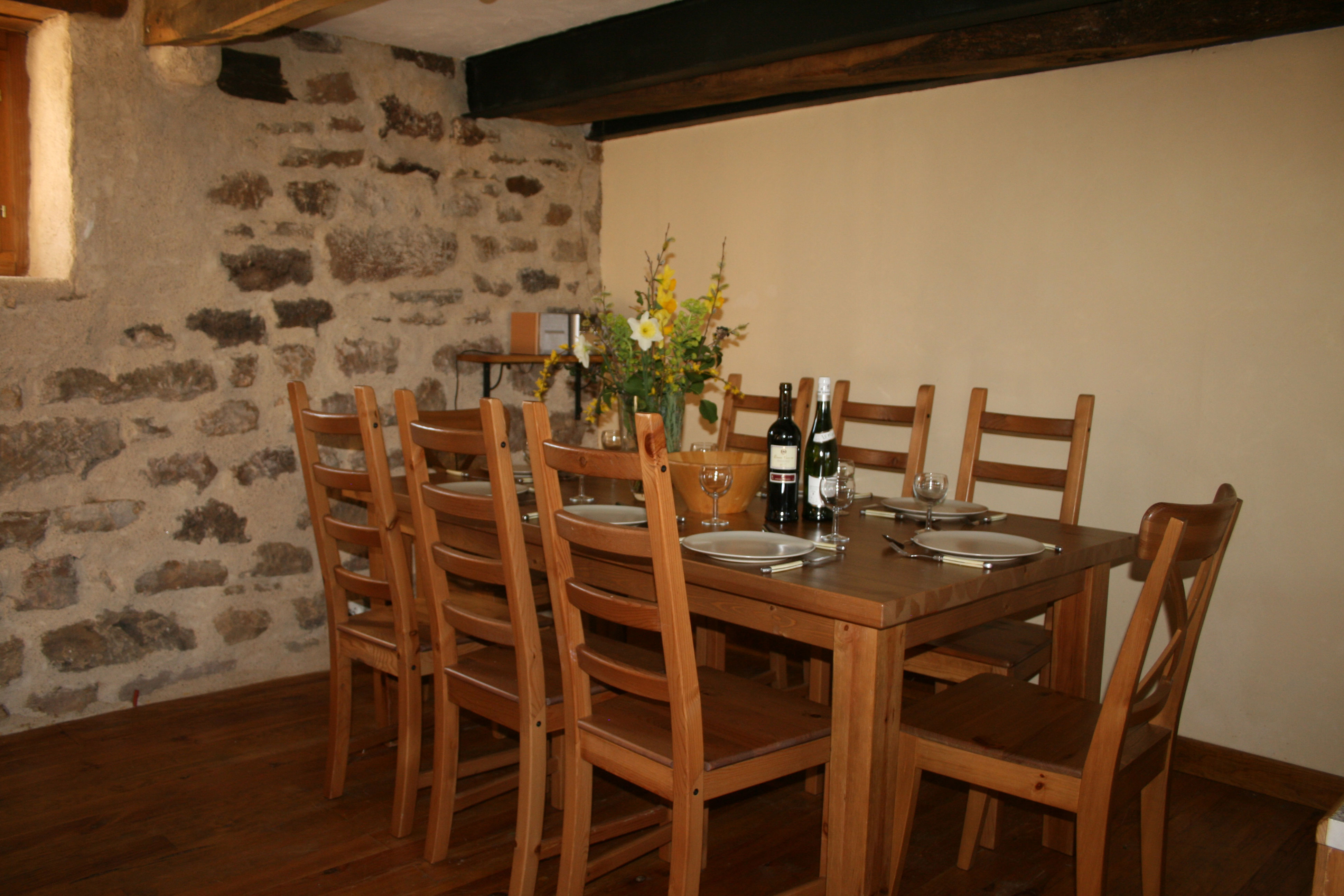 holiday home with dining room