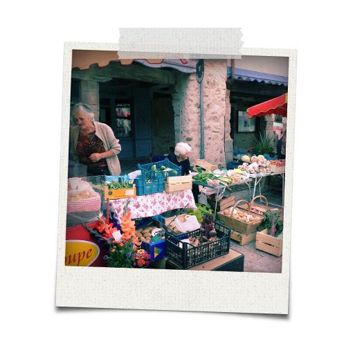 Najac market